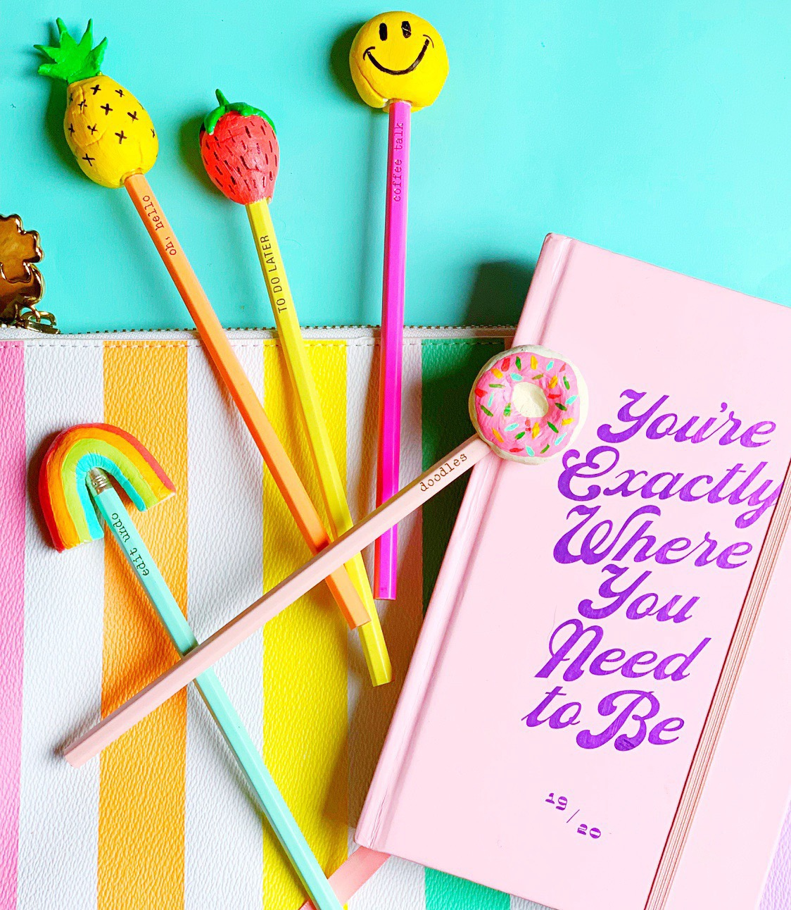 Kiddo Craft Diy Pencil Toppers Auburn Artisan